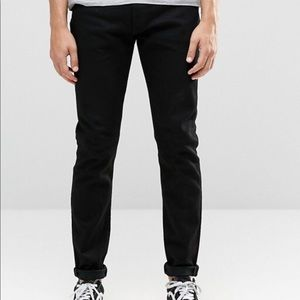 Men's 512 Slim and Tapered Levi's in jet black